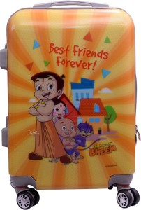 Fortune Chhota Bheem BestFriend Forever 20 Inch KidsLuggage trolley Bag Cabin Luggage - 20 inch
