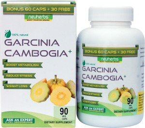 Neuherbs Garcinia Cambogia Plus Extract 90 Capsules For Weight Loss Supplement 100 Pure Vegetarian Natural Weight Management Appetite Suppressant