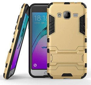 new styles 5a685 94031 Yofashions Back Cover for Samsung Galaxy J7 NxtRoyal Gold, Shock Proof,  Plastic
