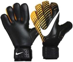 Nike G.K. MATCH Football Gloves (XS, Black, Orange)
