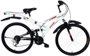 Kross K 60 Multi Speed 26T Mountain Bike For Adults White 26 T 21 Speed Mountain Cycle