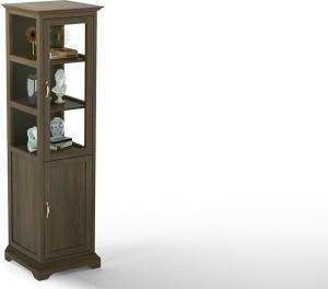 Urban Ladder Eleanor Display Cabinet Solid Wood Close Book Shelf