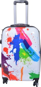 PRAGEE POLYCARBONITE SUITCASE EXCLUSIVE 28 INCHES PRINTED HARD SHELL Check-in Luggage - 28 inch