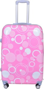 PRAGEE POLLYCARBONATE SUITCASE EXCLUSIVE 28 INCHES PRINTED HARD SHELL Check-in Luggage - 28 inch