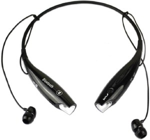 Anytime shops 1 Wireless Bluetooth Headset With Mic Black