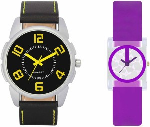 VALENTIME VL25VT07 New Latest Stylish Designer Collection Leather Combo Couple Fancy Casual Best Offer Watch  - For Men & Women