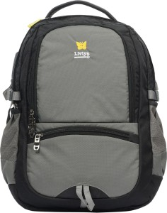 55888bb6f18d Liviya SB1206LV 31 L Medium Backpack Grey Black Best Price in India ...