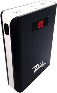 Zeal Z10 Digital  10400mAh Capacity (BIS Certified) Model Z10 10400 mAh Power Bank