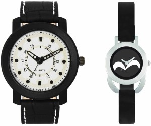 VALENTIME VL16VT16 New Latest Stylish Designer Collection Leather Combo Couple Fancy Casual Best Offer Watch  - For Men & Women