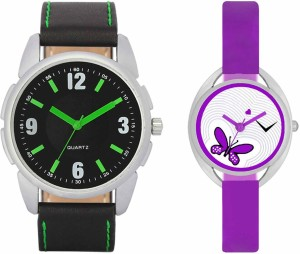 VALENTIME VL26VT02 New Latest Stylish Designer Collection Leather Combo Couple Fancy Casual Best Offer Watch  - For Men & Women