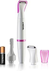 Nova NLS 530 100 % waterproof Sensitive Touch Trimmer For women Cordless Trimmer