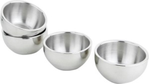 Sayee Round stainless steel Katori/Bowl Stainless Steel Bowl Set