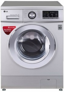 LG 7 kg Fully Automatic Front Load Washing Machine Silver