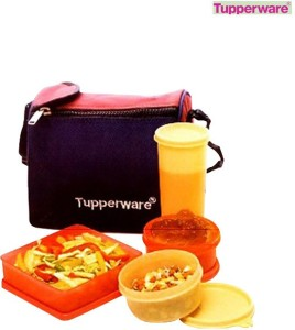 Tupperware Best Lunch Bag 4 Containers Lunch Box