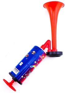Sukot Hand Held Large Air Horn Pump Loud Noise Maker Fun Parties Sports Events Bell