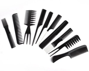Sweetpea 10pcs Hair Styling Hairdressing Make Up Comb Professional Combs