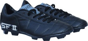 Gowin By Triumph SF-II PU Black Football Shoes