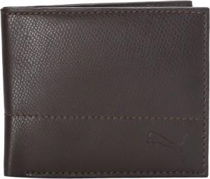 Puma Men Brown Artificial Leather Wallet