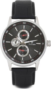 Titan 9441SL02 Smart Steel Watch  - For Men