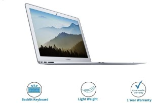 Apple MacBook Air Core i5 5th Gen - (8 GB/128 GB SSD/Mac OS Sierra)  MQD32HN/A A146613 3 inch, SIlver, 1 35 kg