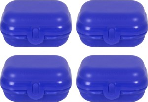 Tupperware Sandwich keeper small Purple each 250 ml 4 Containers Lunch Box