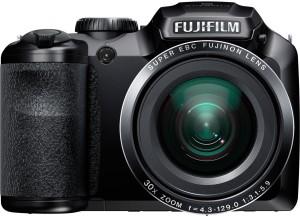 Fujifilm FinePix S4800 16MP Digital Camera with 3-Inch LCD (Black) Advanced Point & Shoot Camera
