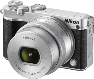 Nikon Nikon 1 J5 Silver With 10-30 mm Lens Mirrorless Camera Body With 10-30 mm Lens