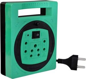 elove Extension Board Multiple Socket Surge Protector 5 Meter Cord Amp 6 A Three Pin Socket