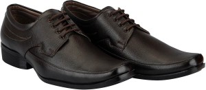 FAUSTO Men's Formal Derby, Lace Up