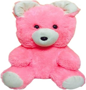 OnlySoft Pink Soft Teddy Bear for Girls , Special ones & Kids  - 40 cm