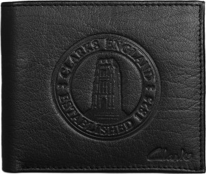 f149f2053f9 Clarks Men Black Genuine Leather Wallet 4 Card Slots Best Price in ...