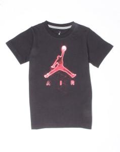 eef5cdd2fff Jordan Boys Graphic Print Cotton T Shirt Black Pack of 1 Best Price ...