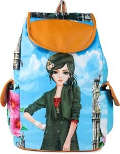 Leather Retail Waterproof Backpack