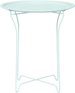 H User Bordeaux Side Table In Mint Metal Outdoor Table Finish Color - Bordeaux coffee table