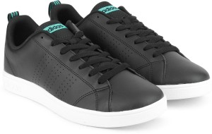 Adidas Neo VS ADVANTAGE CL W Tennis Shoes Black Best Price in India ... 56059f542c19b