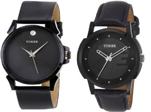 TOREK Combo of Two Multicolor Branded AAWERD 2169 Watch  - For Boys