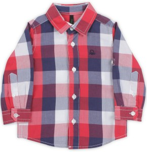 Checkered Shirt In Of Casual Benetton Best Boys United Colors Price Pw8k0OXNnZ