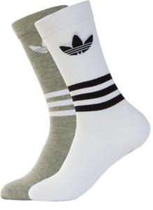 Adidas Men & Women Floral Print Crew Length Socks