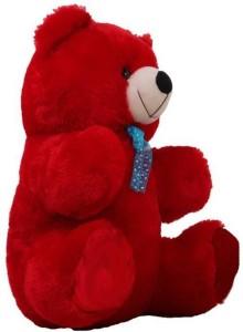 6bb54417b9f AVS 3 Feet Stuffed Spongy Hugable Cute Sitting Teddy Bear 91 cm Red ...