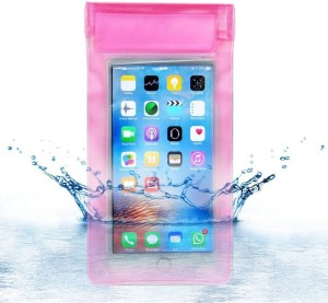 best authentic 2260a c71af ACM Pouch for Micromax Selfie 2 Q4311Pink, Waterproof, Silicon