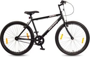 hero spunky 26 t single speed road cycle black best price in india