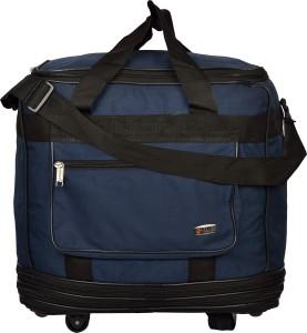 Trekker DFJUMBO3BLU (Expandable) Travel Duffel Bag