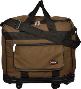 Trekker DFJUMBO2BR (Expandable) Travel Duffel Bag