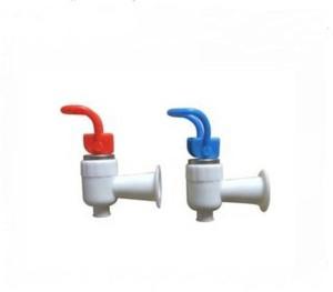 PK Aqua -2 Pcs Water Dispenser Plastic(Blue,Red) Handle White Tap Hose Pipe