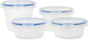 Flipkart SmartBuy Nesterware Containers Pack of 4 with Lockable Lid