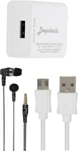 DEEPSHEILA Wall Charger Accessory Combo for XIAOMI REDMI NOTE 3