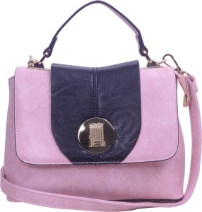 ESBEDA Women Casual Pink Leatherette Sling Bag