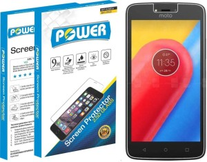 Power Tempered Glass Guard for Moto C Plus