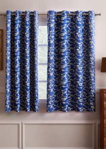 Flipkart SmartBuy 150 cm (5 ft) Polyester Window Curtain (Pack Of 2)