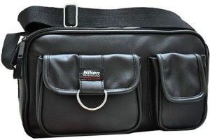 Nikon DSLR PU Shoulder  Camera Bag